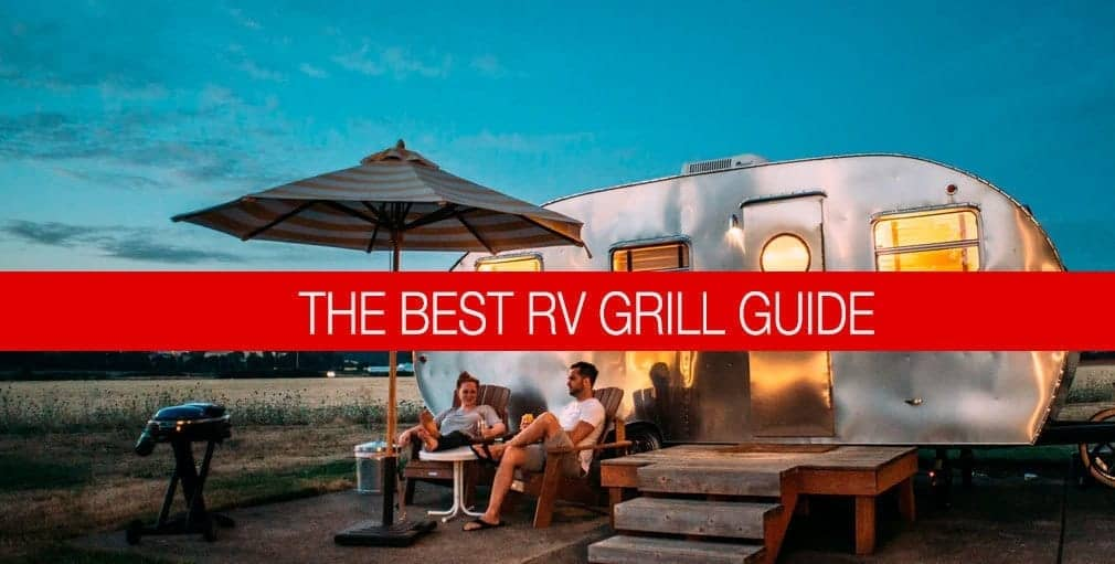 rv in the wilderness grilling