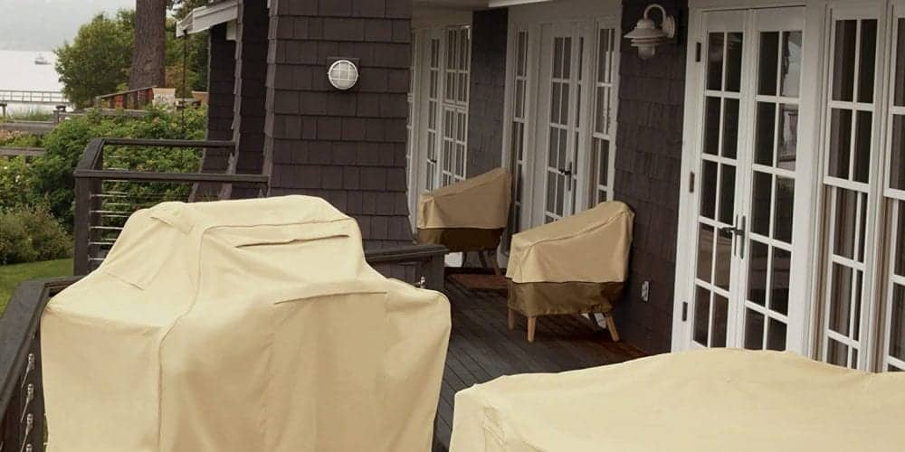 an image of various grill covers