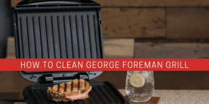 a electric grill on a table